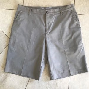 Adidas Men's ClimCool beige shorts. Sz 34
